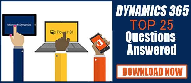 Q&A about Dynamics 365