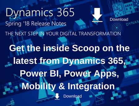 Dynamics 365 Spring 18 Update Whitepaper
