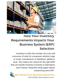 Inventory Control White Paper